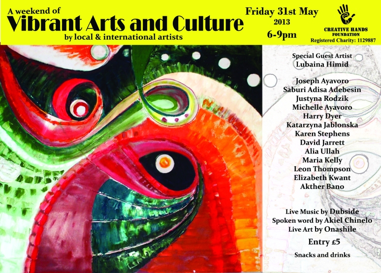 A weekend of Vibrant Arts and Culture