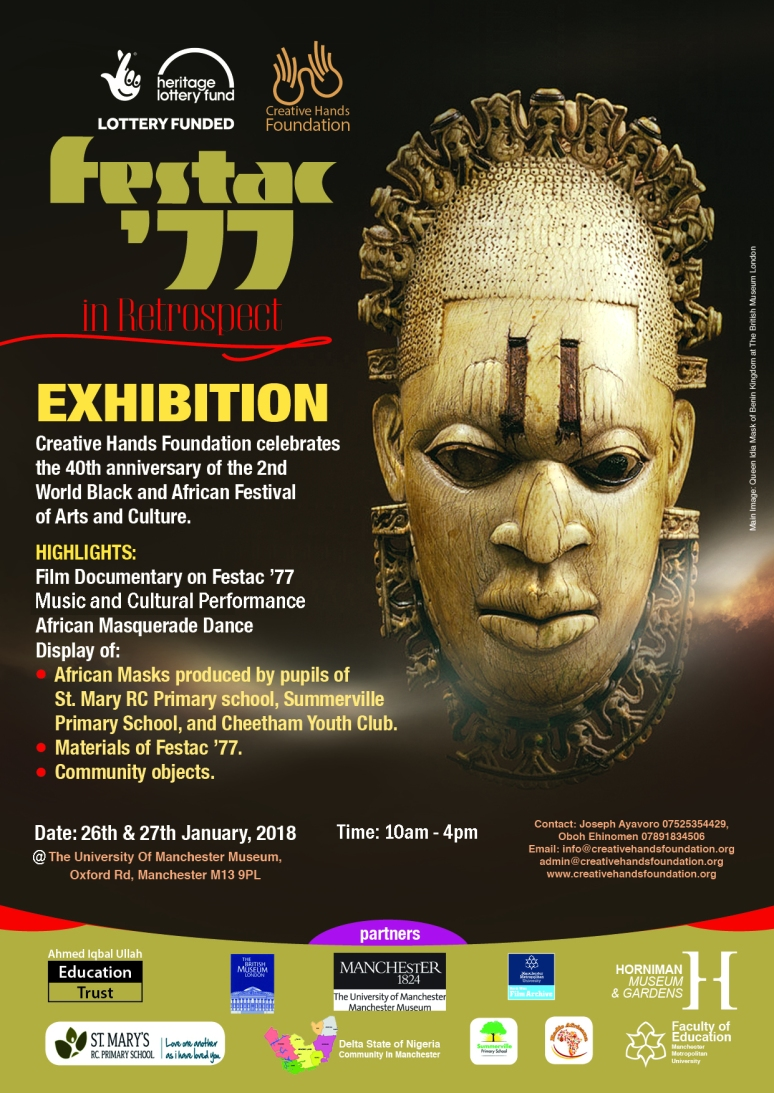CHF Festac-Retrospect-Flyer-Exhibition