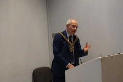The Lord Mayor of Manchester Eddy Newman