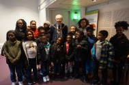 The Lord Mayor with Children of Cheetham Youth Clum